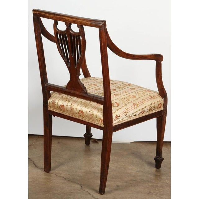 Wood Set of Four 18th Century French Chairs For Sale - Image 7 of 7