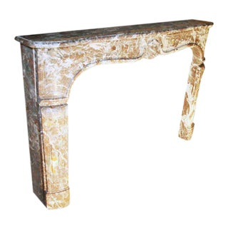 18th C. French Marble Mantel