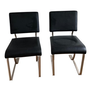 1930s Marvel Breuer Aluminum Chairs- a Pair For Sale
