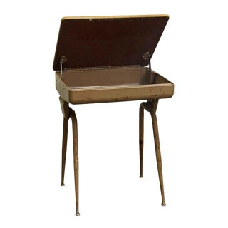 Mid-Century Modern School Desk For Sale
