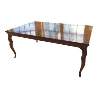 French Country Distressed Dining Table For Sale