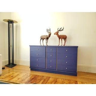 A Mid-Century Modern - MCM - Blue Klein Dresser - Credenza Preview