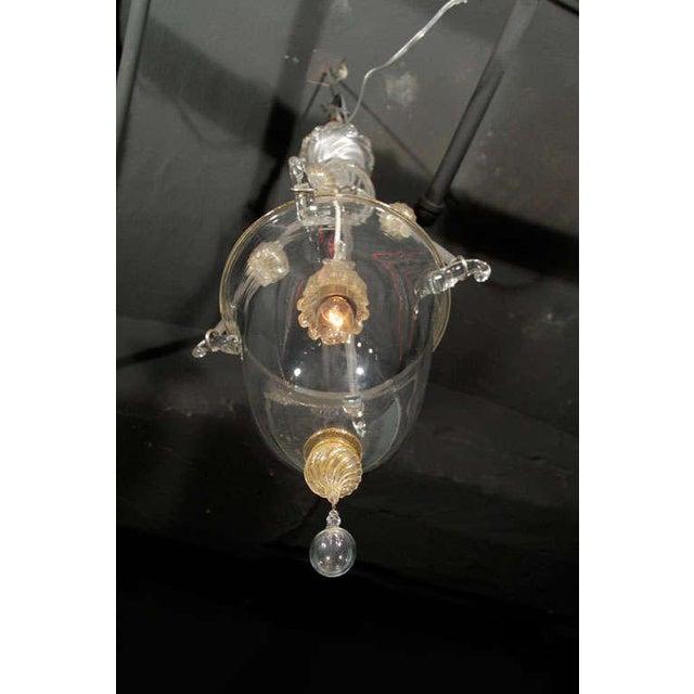 Murano Glass Lantern For Sale - Image 9 of 10