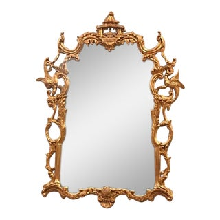 20th Century Carved Giltwood Mirror