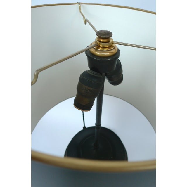 Japanese Champlevé Bronze Table Lamp - Image 6 of 6
