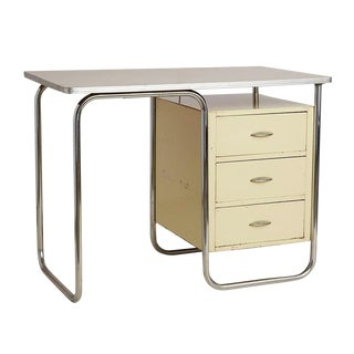 Petite Streamline Desk by Walter Dorwin Teague for Texaco Circa 1940