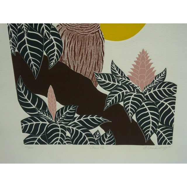 "G. Clark Sealy 1977 ""Chouette"" Print For Sale In Pittsburgh - Image 6 of 8"