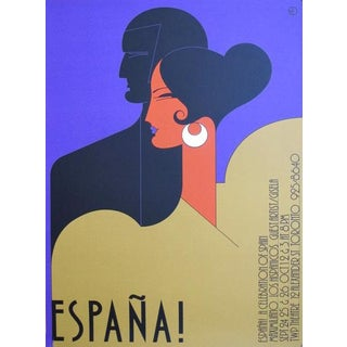 1980s Original Canadian Theatre Poster - Espana (Twp Theatre) For Sale