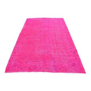 Turkish Pink Anatolian Rug - 5′5″ × 8′10″
