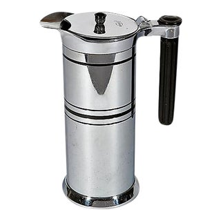Art Deco Chrome Coffee Server