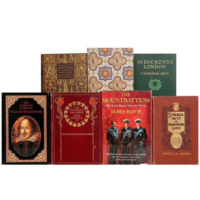 Curated British library set of100. A delightful, curated blend of titles on British literature, history and art. Various...
