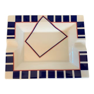 1990s Villeroy & Boch Modern Cigar Ashtray by Adam Tihany For Sale