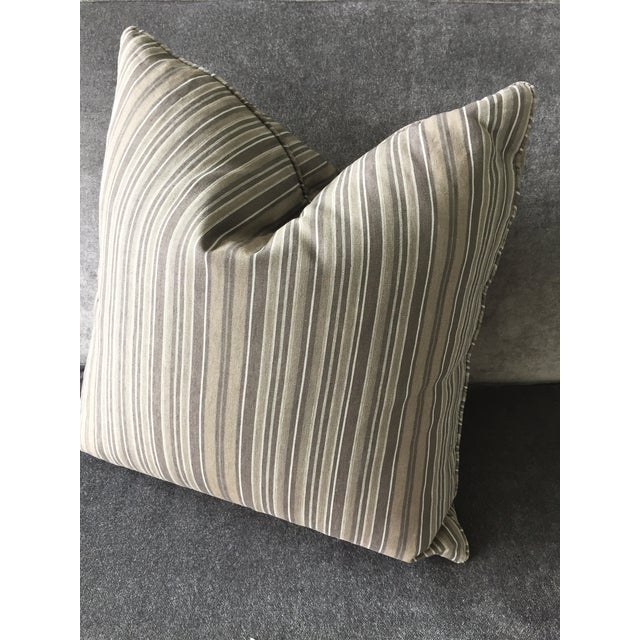 Linen Christian Liaigre Linen Throw Pillow For Sale - Image 7 of 7
