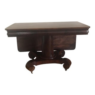Antique Mahogany Breakfast Table For Sale