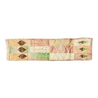 Vintage Moroccan Berber Runner-2′4″ × 9′2″ For Sale