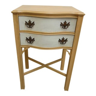 Antique Chippendale High Nightstand For Sale