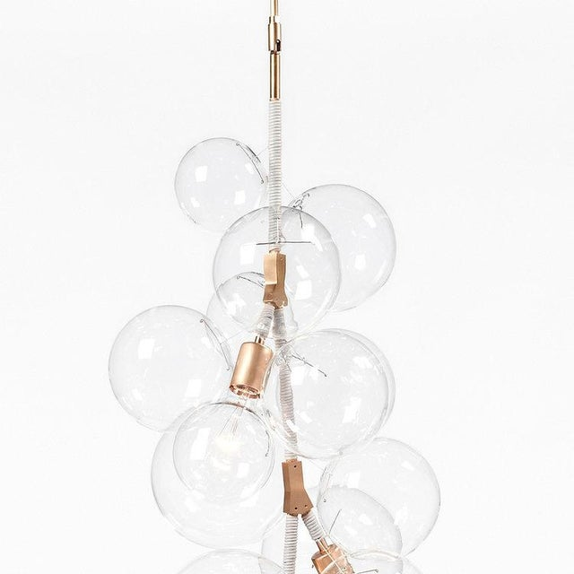 Modern Pelle X-Tall Bubble Chandelier For Sale - Image 3 of 6