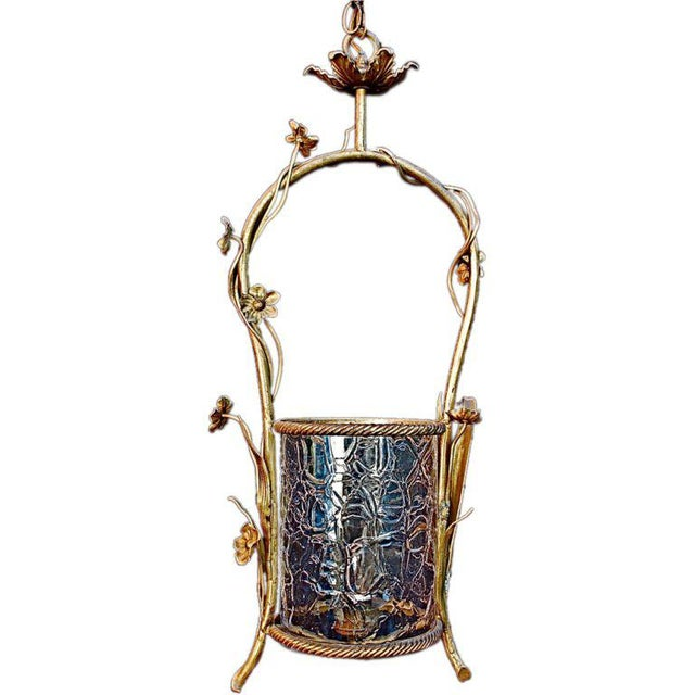 French French Brass Lantern For Sale - Image 3 of 3