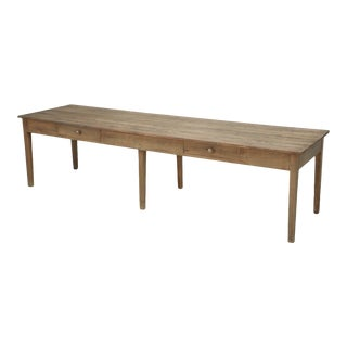 Antique French Farm Table From Toulouse For Sale