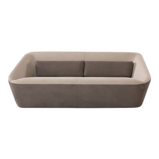 Spencer V1 3-Seater Fabric Upholstered Sofa For Sale
