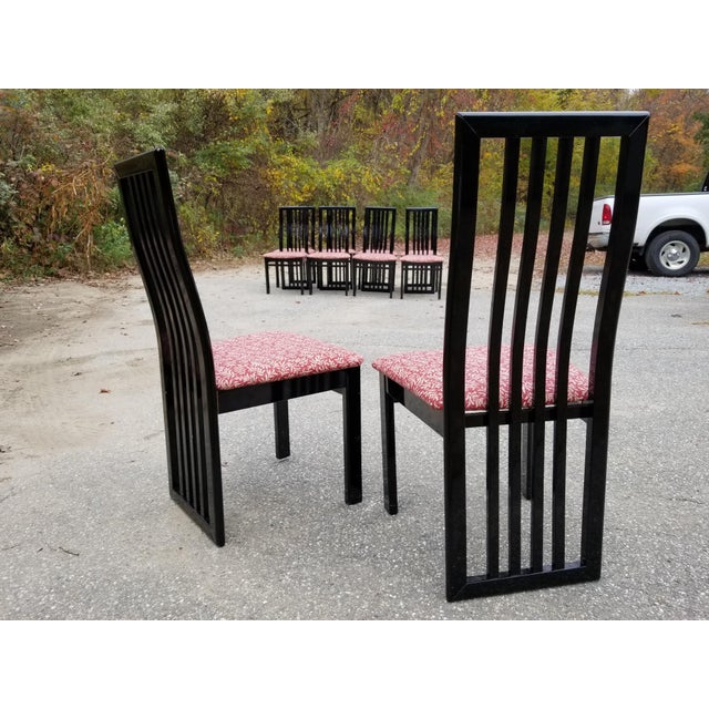 S.P.A Tonon Italian Modern Dining Chairs - Set of 10 For Sale - Image 4 of 13