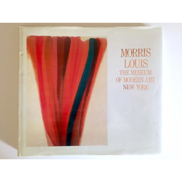 """Vintage 1st Edtn """"Morris Louis Moma"""" Collector's Abstract Expressionist Art Book, 1986 For Sale - Image 13 of 13"""