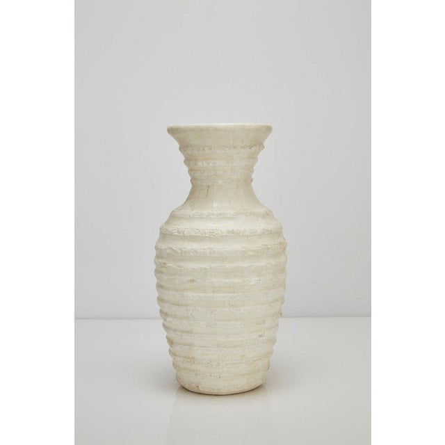 """Contemporary 1990s Postmodern Tessellated Stone Inlaid """"Terraced"""" Vase For Sale - Image 3 of 13"""