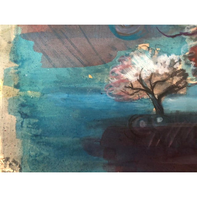 Modern Modern Landscape Painting by William Palmer, 1947 For Sale - Image 3 of 8