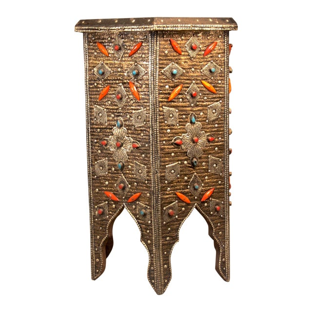 Moroccan Star Shaped Table - Image 1 of 3