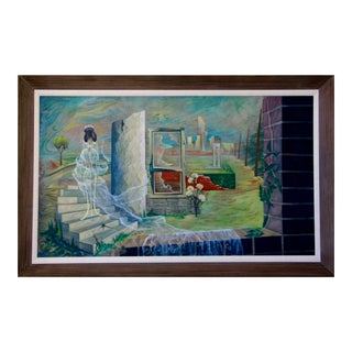 """""""The Spirit of the House"""" Painting by Cees Brokke For Sale"""