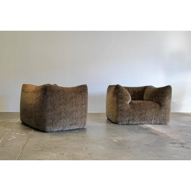 "1970s Mario Bellini ""Le Bambole"" Chairs & Ottoman For Sale In San Diego - Image 6 of 13"
