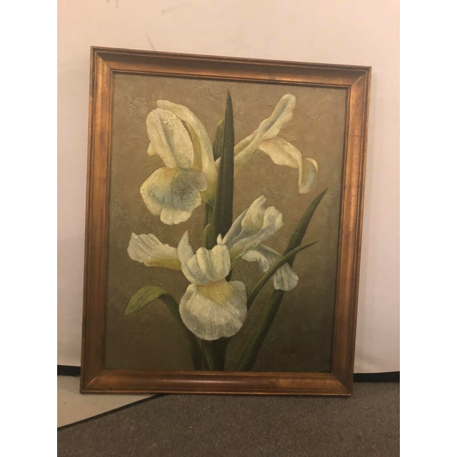Traditional Columbian Catalina Oil Painting on Canvas For Sale - Image 3 of 10