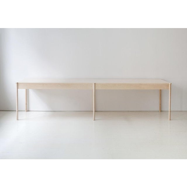 Radnor Egg Collective Russell Dining Table For Sale - Image 4 of 4