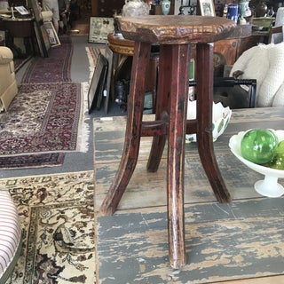 Late 19th Century Distressed Chinese Stool Preview