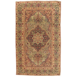 Late 19th Century Antique Persian Kermanshah Rug - 3′1″ × 6′5″ For Sale