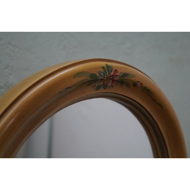 Vintage Louis XV Hand Painted Cheval Mirror - Image 4 of 10