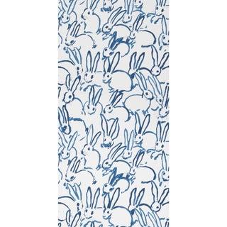Hunt Slonem for Lee Jofa, Hutch Wallpaper Roll, Navy, 10 Yards For Sale