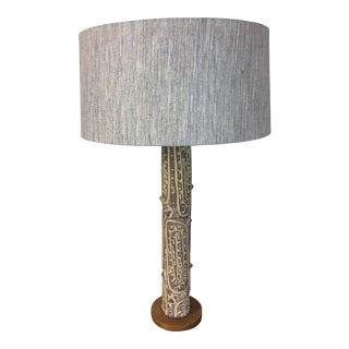 1960s Lee Rosen for Design Technics Ceramic Table Lamp For Sale