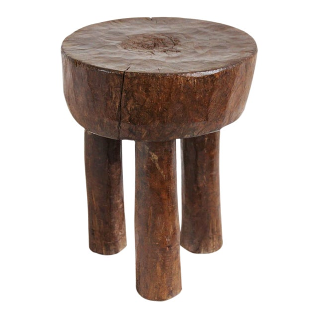 Baule Ivory Coast Stool For Sale