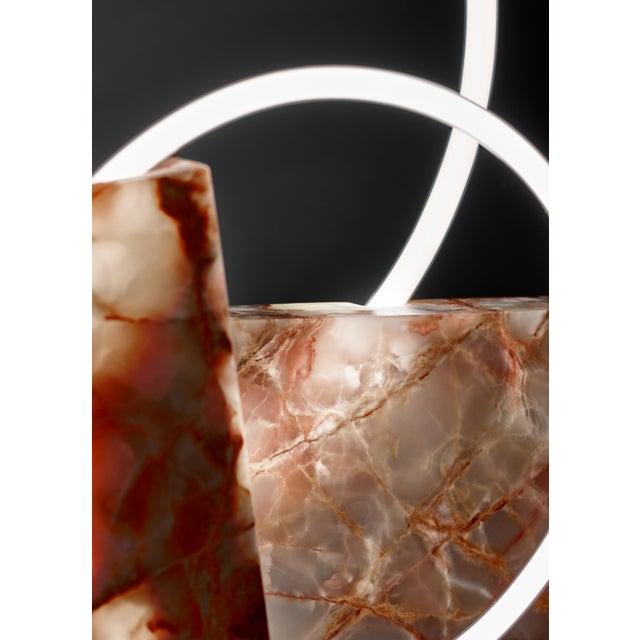 Sabine Marcelis Onyx Table Lamp, Sabine Marcelis For Sale - Image 4 of 10