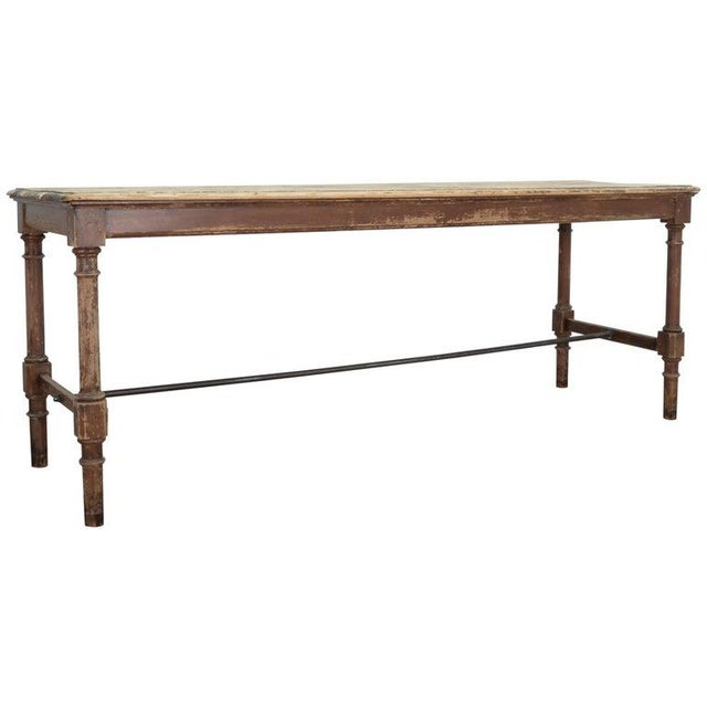 Antique Belgian Side Table For Sale - Image 10 of 10