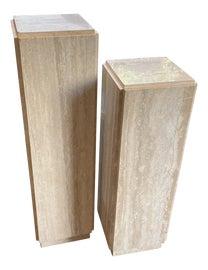 Image of Travertine Pedestals and Columns