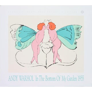 Andy Warhol-Page from In the Bottom of My Garden-1989 Poster For Sale