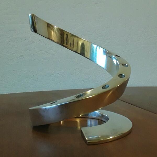 Mid-Century Dansk Spiral Candleholder - Image 2 of 4