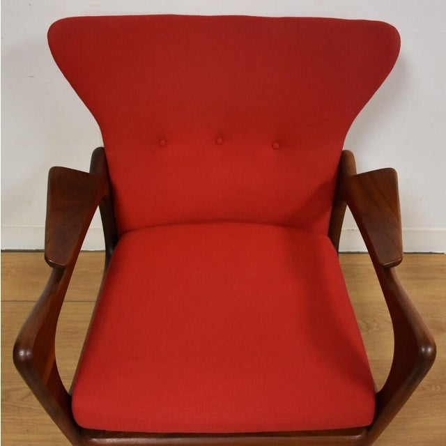Craft Adrian Pearsall Wing Back Lounge Chair For Sale - Image 4 of 11