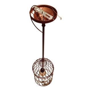 Black & Bronze Birdcage Chandelier