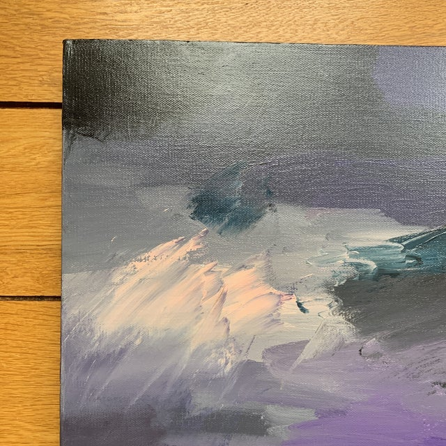 Abstract Original Abstract Painting on Canvas For Sale - Image 3 of 6