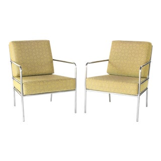 1990s Vintage Richard Frinier for Brown Jordan Hand Crafted Lounge Chairs- A Pair For Sale