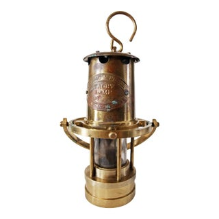 Late 20th Century Brass Yacht Lamp by Weems & Plath For Sale