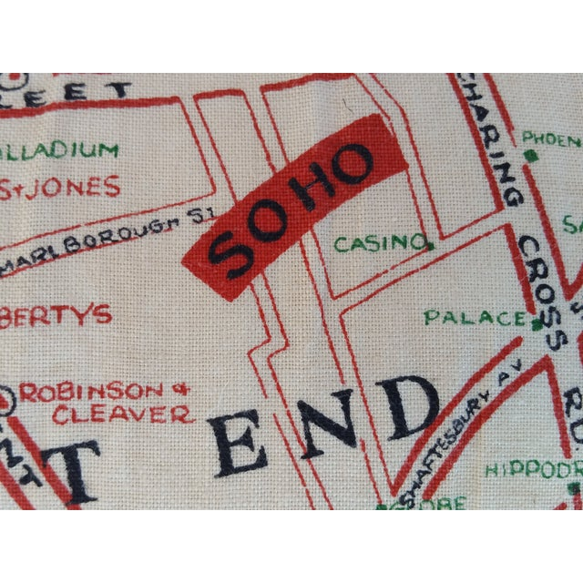 Old London Map Pillow - Image 5 of 6